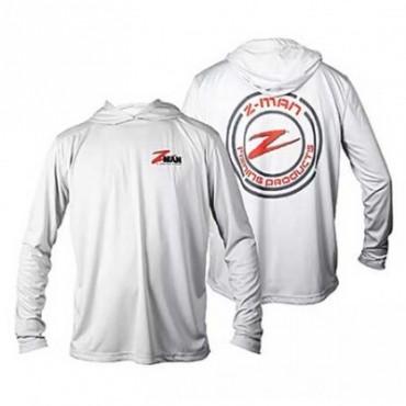 Блуза Z-Man UPF50 Hoodiez Pearl Gray L