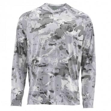 Блуза Simms SolarFlex Hoody Print Cloud Camo Grey M