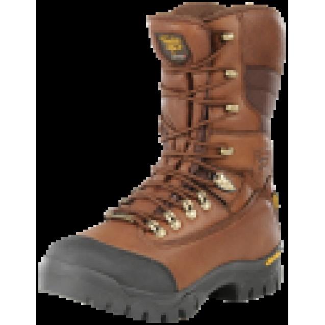 Ботинки Jahti Jakt Premium с мембраной и утеплителем коричневые