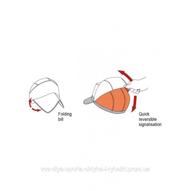 Двухсторонняя демисезонная кепка с маской фотокамуфляж 3DX