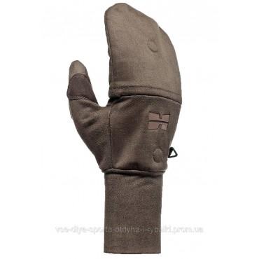 Ветронепроницаемые перчатки с отворотом Hillman цвет OAK