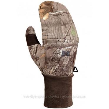 Ветронепроницаемые перчатки с отворотом Hillman фотокамуфляж 3DX