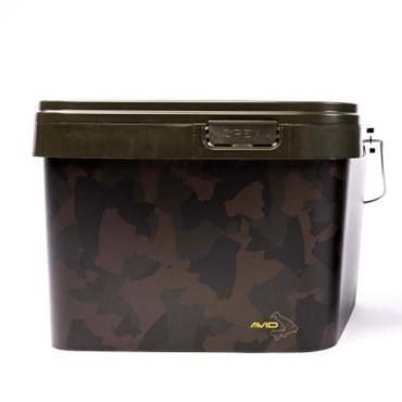 Ведро для прикормки Avid Camo Bucket 17L