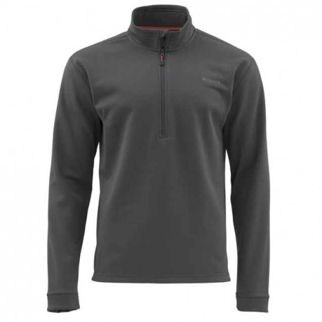Блуза Simms Midweight Core Quarter-Zip Carbon L