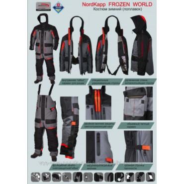 Зимний костюм поплавок NordKapp Frozen World Green
