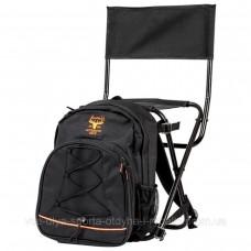 Стул-рюкзак Fladen Chair Bag Black Gold Authentic L