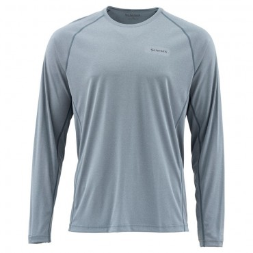 Блуза Simms SolarFlex Crewneck Solids Storm Heather S