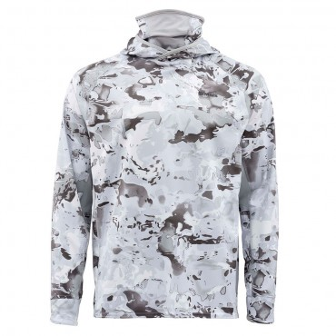 Блуза Simms Sflex UltraCool Armor Cloud Camo Grey XXL