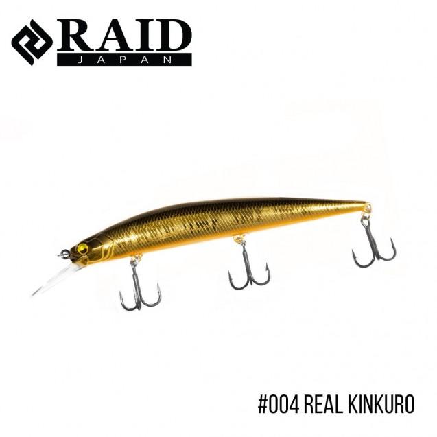 Воблер Raid Level Minnow Plus (125mm, 14g)  (004 Real Kinkuro)