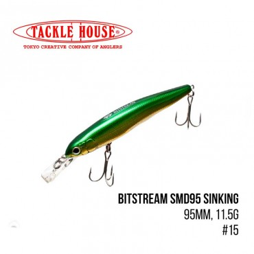 Воблер Tackle House Bitstream SMD95 Sinking (95mm, 11.5g,) (15)