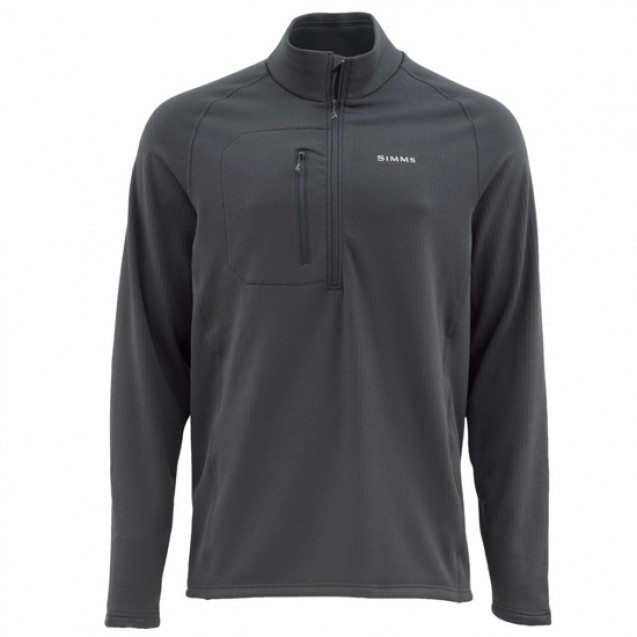 Блуза Simms Fleece Midlayer Top Raven XXL